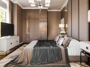 Оформление спальни в стиле «Зефир»